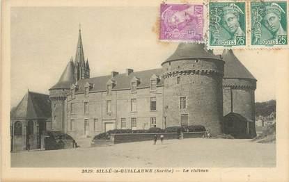 """CPA FRANCE 72 """"Sillé le Guillaume, le château"""""""