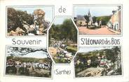 """72 Sarthe CPSM FRANCE 72 """"Saint Léonard des Bois"""""""