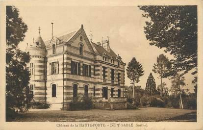 """CPA FRANCE 72 """"Sablé sur Sarthe, château de la Haute Porte"""""""