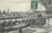 """72 Sarthe CPA FRANCE 72 """"Sablé sur Sarthe, vue générale du jardin de la ville"""""""