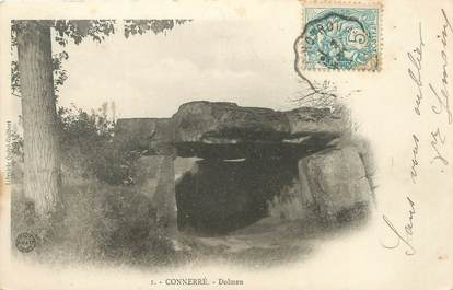 "CPA FRANCE 72 ""Connerré, dolmen"""