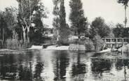 """72 Sarthe CPSM FRANCE 72 """"Connerré, barrage du moulin sur l'huisne"""""""