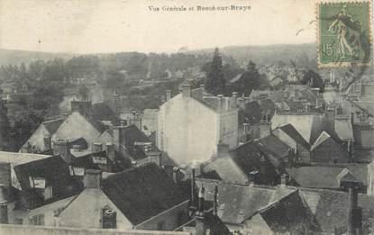 """CPA FRANCE 72 """"Vue générale et Bessé sur Braye"""""""