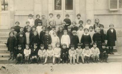 CARTE PHOTO ECOLE / ENFANT