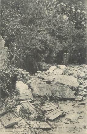 "CPA FRANCE 72 ""Mamers, catastrophe du 7 juin 1904"""