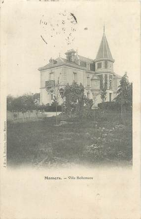 """CPA FRANCE 72 """"Mamers, villa Bellemare"""""""