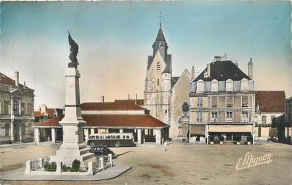 """CPSM FRANCE 72 """"Mamers, place Carnot"""""""