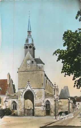 """CPSM FRANCE 72 """"Mamers, église Notre Dame"""""""