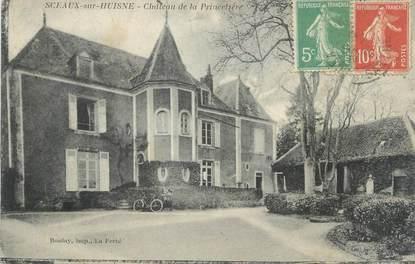 """CPA FRANCE 72 """"Sceaux sur Huisne, château de la Princelière"""""""