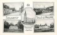 "72 Sarthe CPSM FRANCE 72 ""Sillé Le Philippe"""