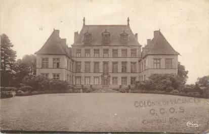 """CPA FRANCE 01 """"Fareins, Château de Fléchères, la cour d'honneur"""""""