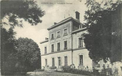 "CPA FRANCE 01 ""Guereins, château de Charmes"""