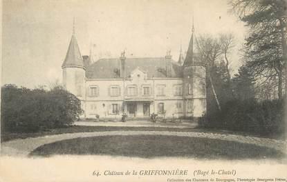 """CPA FRANCE 01 """"Château de la Griffonnière"""""""