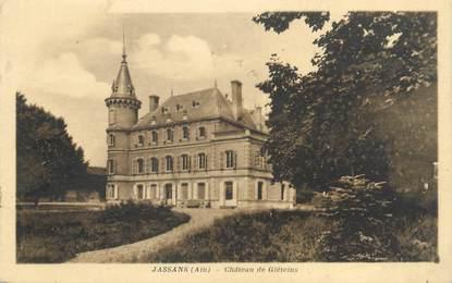 "CPA FRANCE 01 ""Jassans, château de Gléteins"""