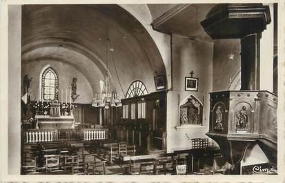 """CPSM FRANCE 01 """"Jasseron, intérieur de l'église"""""""