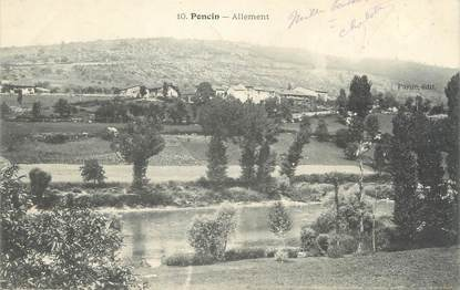 """CPA FRANCE 01 """"Poncin, Allement"""""""