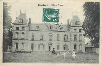 """CPA FRANCE 01 """"Reyrieux, château vieux"""""""
