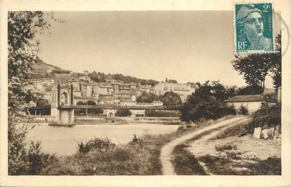 """CPA FRANCE 01 """"Trévoux, les bords de la Saône"""""""