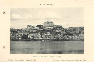 CPA PANORAMIQUE PORTUGAL