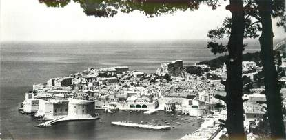 "CPSM PANORAMIQUE CROATIE ""Dubrovnik"""