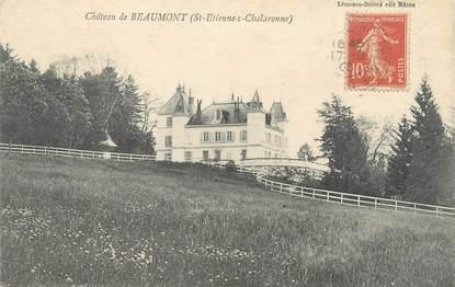 """CPA FRANCE 01 """"Château de Beaumont"""""""