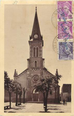 "CPA FRANCE 01 ""Saint Denis en Bugey, l'église"""