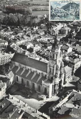 "CPSM FRANCE 01 ""Bourg en Bresse, église Notre Dame"""