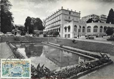 """CPSM FRANCE 01 """"Divonne les Bains, le casino et les jardins"""""""