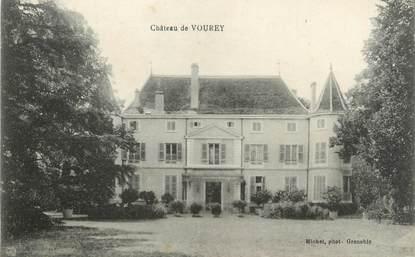 """CPA FRANCE 38 """"Château de Vourey"""""""