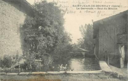 """CPA FRANCE 38 """"Saint Jean de Bournay, la Gervoude, Saut du moulin"""""""