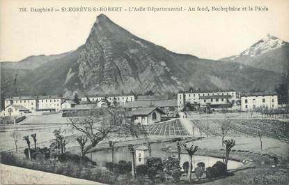 """CPA FRANCE 38 """"Saint Egrève Saint Robert, l'asile départemental"""""""