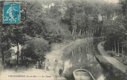 """/ CPA FRANCE 77 """"Villeparisis, le canal"""""""