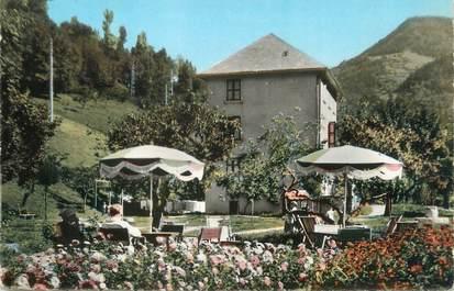 """CPSM FRANCE 38 """"Allemont en Oisans, hôtel restaurant Ginies"""""""