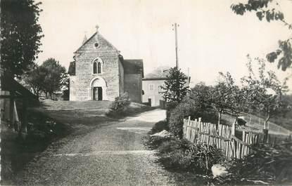 """CPSM FRANCE 38 """"Lieudieu, place de l'église, maison de repos"""""""