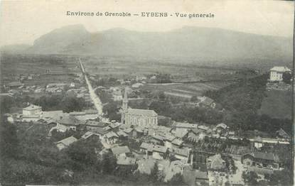 "CPA FRANCE 38 ""Eybens, vue générale"""