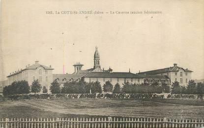 """CPA FRANCE 38 """"La Côte Saint André, la caserne"""""""