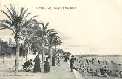 "/ CPA FRANCE 06 ""Cannes bld Jean Hilbert"""