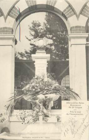 """CPA FRANCE 38 """"Allevard Les Bains, monument aux morts"""""""