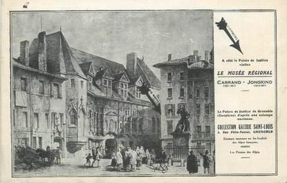"""CPA FRANCE 38 """"Grenoble, le musée Régional"""""""