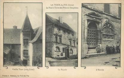 """CPA FRANCE 38 """"La Tour du Pin, le pied à terre des Princes Dauphins"""""""