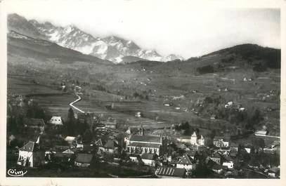 """CPSM FRANCE 38 """"Theys, vue générale et les Alpes"""""""