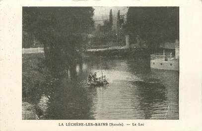 """CPA FRANCE 73 """"La Léchère Les Bains, le lac"""""""