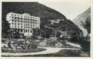 """73 Savoie CPSM FRANCE 73 """"La Léchère Les Bains, le parc et l'hôtel Radiana"""""""