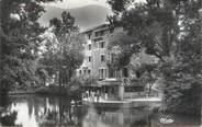 """73 Savoie CPSM FRANCE 73 """"La Léchère Les Bains, buvette de la source """""""