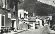 """73 Savoie CPSM FRANCE 73 """"La Léchère Les Bains, centre commercial de la station thermale """""""