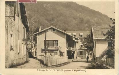 """CPA FRANCE 73 """"La Léchère, l'entrée"""""""