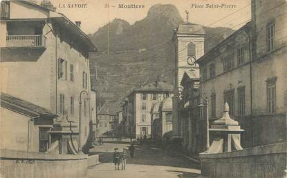 "CPA FRANCE 73 ""Moutiers, place Saint Pierre"""