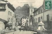 """73 Savoie CPA FRANCE 73 """"Moutiers, place Saint Pierre """""""