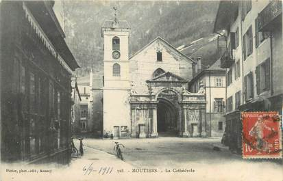 "CPA FRANCE 73 ""Moutiers, la cathédrale """