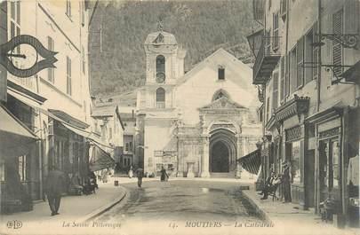 """CPA FRANCE 73 """"Moutiers, La cathédrale"""""""